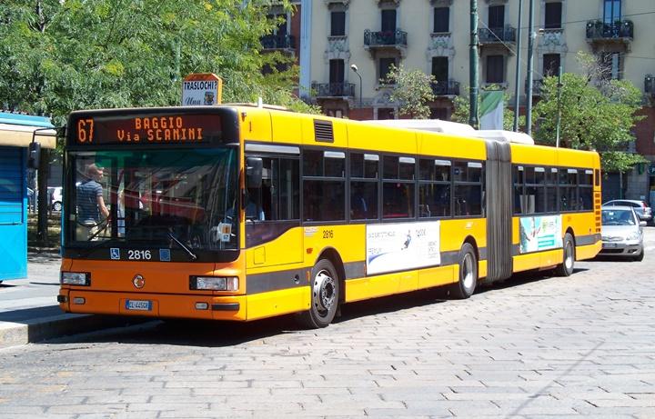 milanoda otobüs