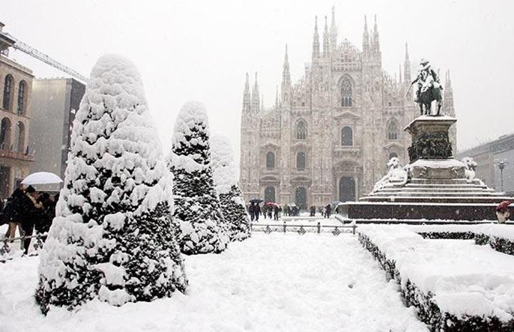 milanonun iklimi - milanoda kış mevsimi nasılıdr - milanoda kar yağışı