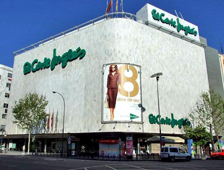 El corte ingles alışveriş merkezi