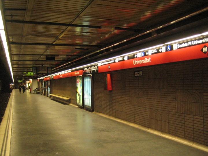 barcelona metrosu