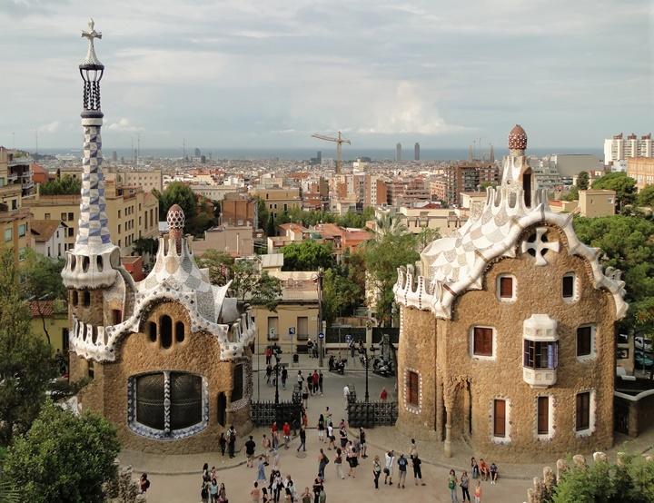 barcelonada yapılacaklar - barcelona  Guell park