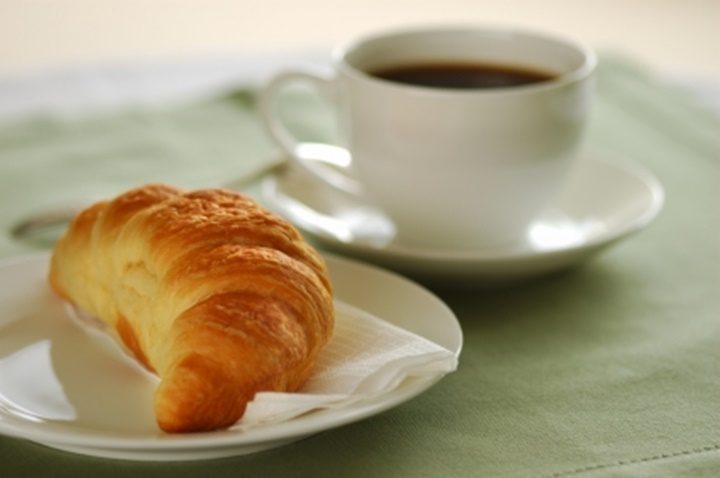 barcelonada yeme içme - kahve ve kruvasan