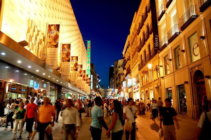 madrid'de alışveriş - madridde nerelerden alışveriş yapılır