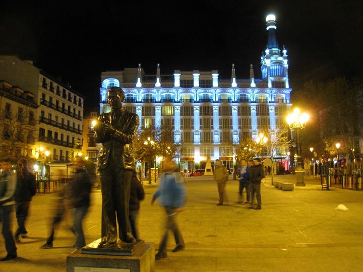 madridde geziecek yerler - Madrid Plaza de Espana Meydanı hakkında bilgi