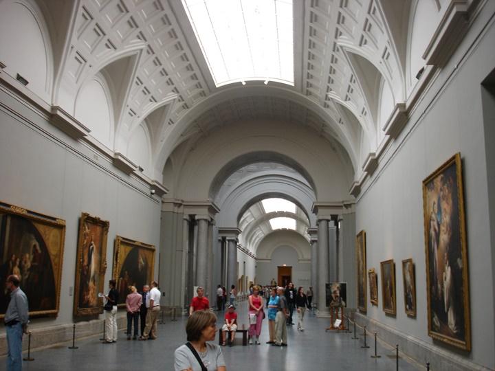 madridde gezilecek yerler - Madrid Prado Müzesinin içinde yer alan eserler