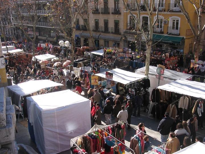 madridde ucuz alışveriş - el rastro pazarı - madridin pazarları