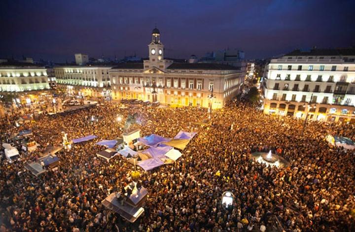 madridin meşhur meydanları - Madrid Puerta del Sol Meydanı