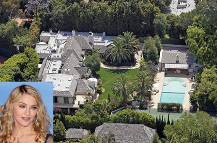Beverly Hillsde gezilecek yerler - madonnanın Beverly Hillsdeki evi