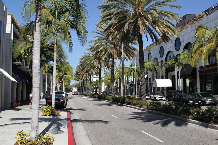 Beverly Hillsde yer alan malikaneler