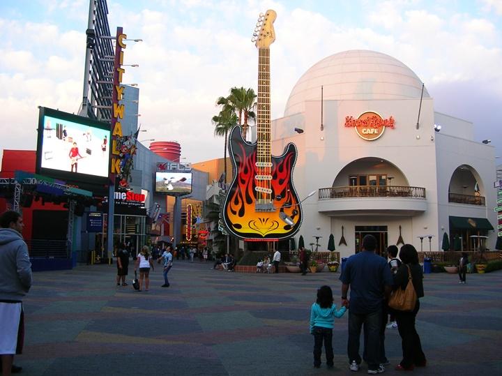 hollywood fil stüdyoları - hollywood hard rock cafe