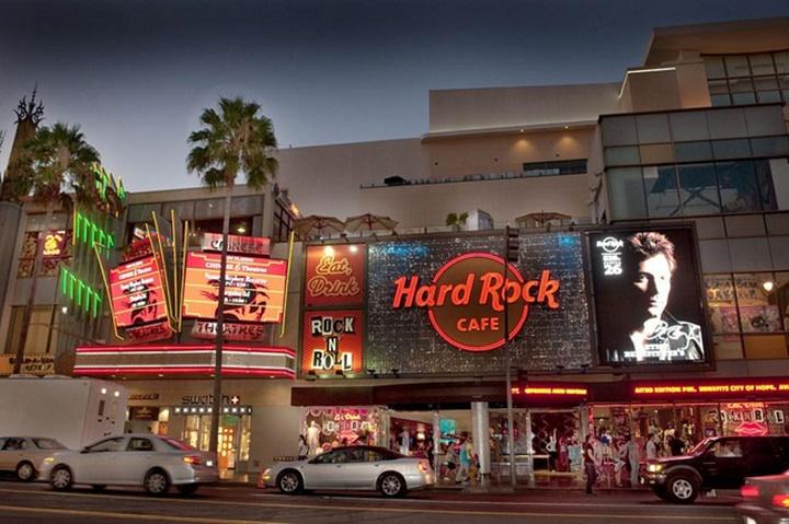 hollywood har rock cafe