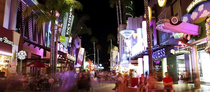 hollywood universal stüdyoları - city walk