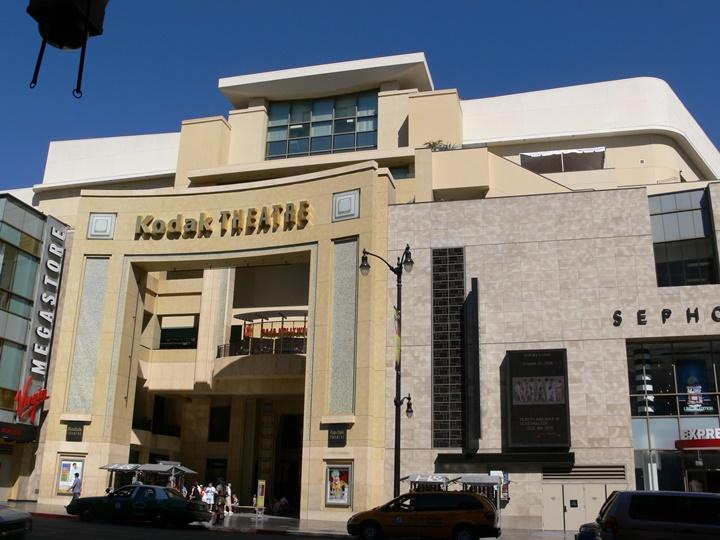 hollywoodda gezilecek yerler - hollywood kodak tiyatrosu