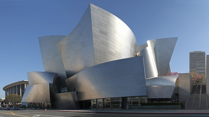 los angeles şehir merkezinde gezilecek yerler - Walt Disney konser salonu