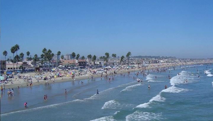 los angeles plajları - Los Angeles Newport plajı