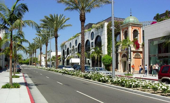 los angelesda gezilecek yerler - Beverly Hillsde gezilecek yerler