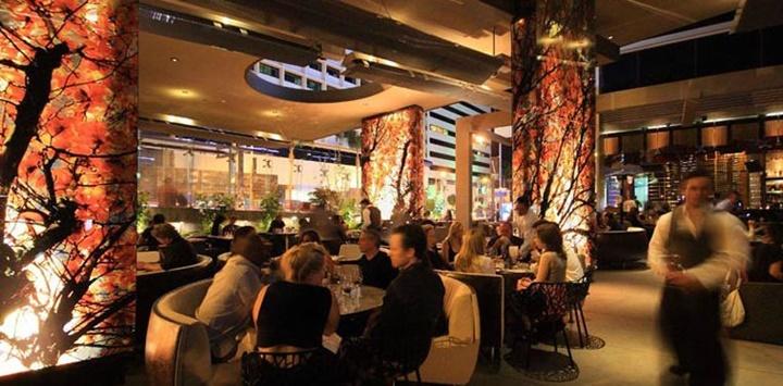 los angelesda yemek yenilecek yerler - Boa Steakhouse Restaurant Los Angeles hollywood