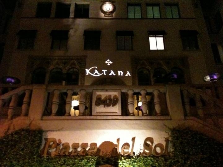 los angelesda yemek yenilecek yerler - Katana Restaurant Los Angeles
