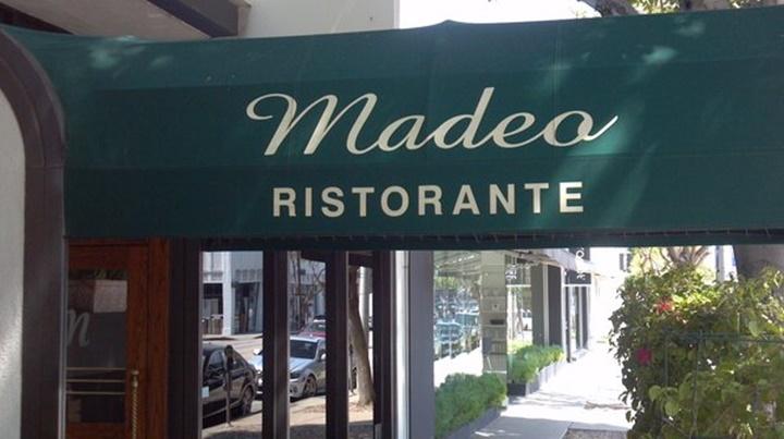 los angelesda yemek yenilecek yerler - Madeo Restaurant Los Angeles