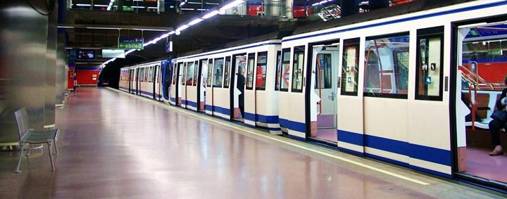 madridde ulaşım - madrid metrosu