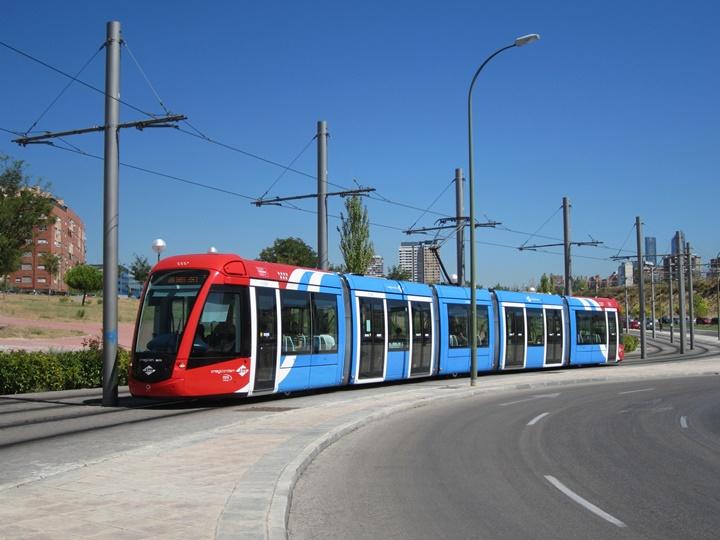 madridde ulaşım - madrid tramvayı