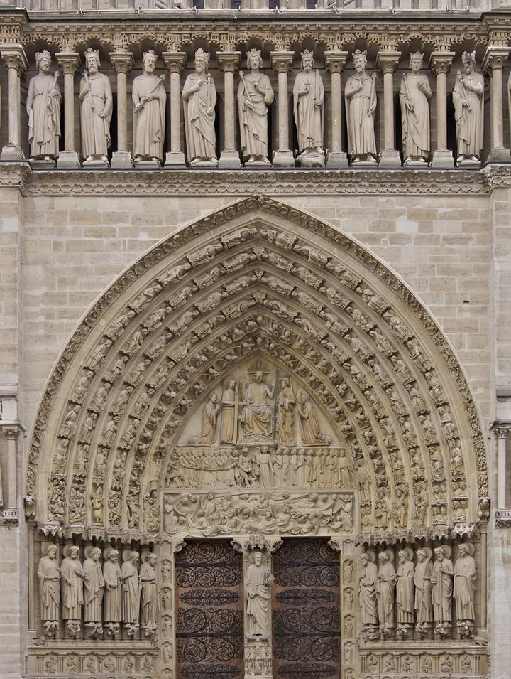 Paris Notre Dame Katedralinin kapılarının hikayesi