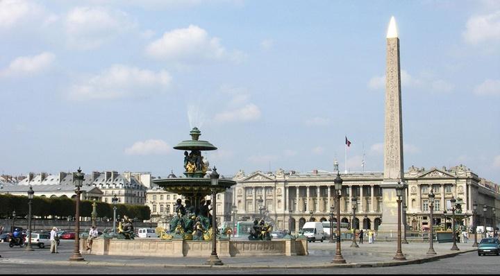 Paris concorde meydanının hikayesi