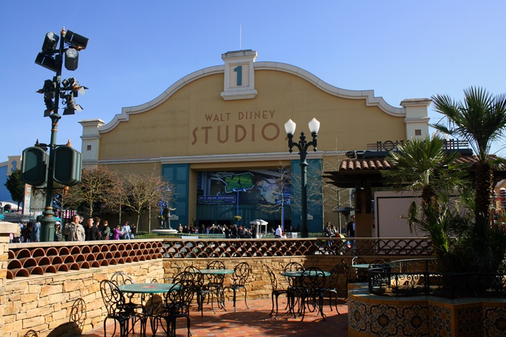 Walt disney studios park - paris disneyland