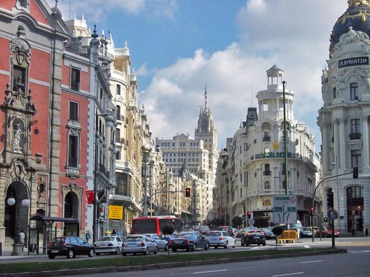 ispnayada gezilecek yerler - madrid şehir merkezi