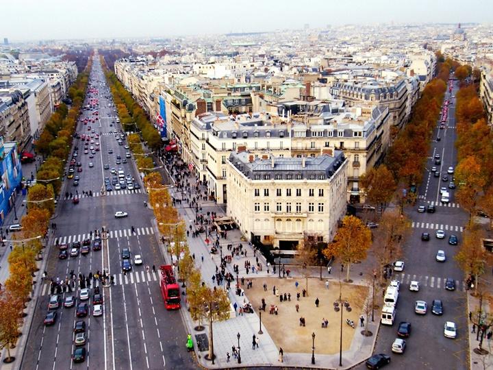 pariste gezilecek yerler - Paris Şanzelize Caddesi - paris alışveriş caddesi