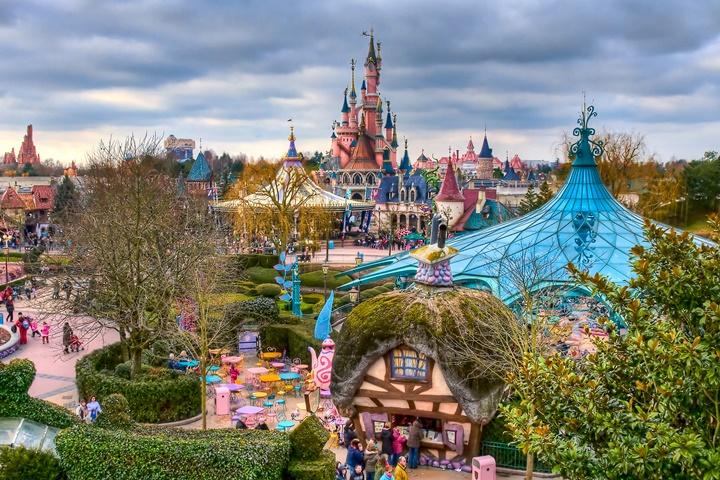 pariste gezilecek yerler - Paris Disneyland