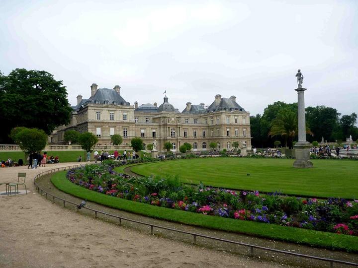 pariste gezilecek yerler - Paris Lüksemburg Bahçesi