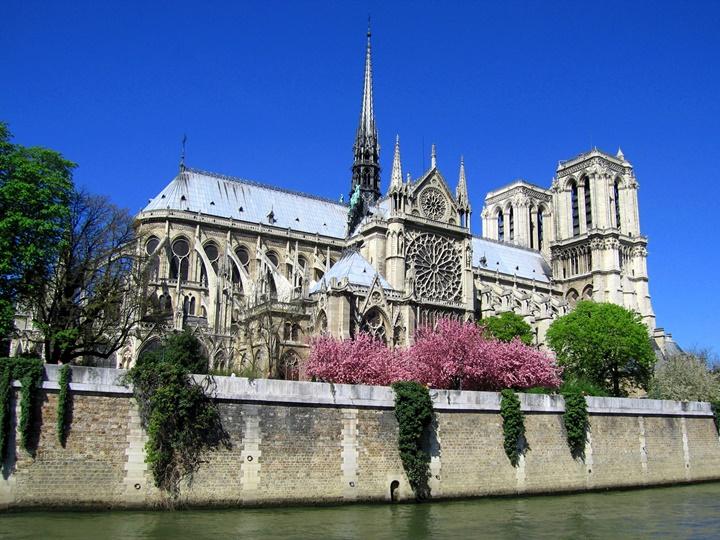 pariste gezilecek yerler - Paris Notre Dame Katedrali