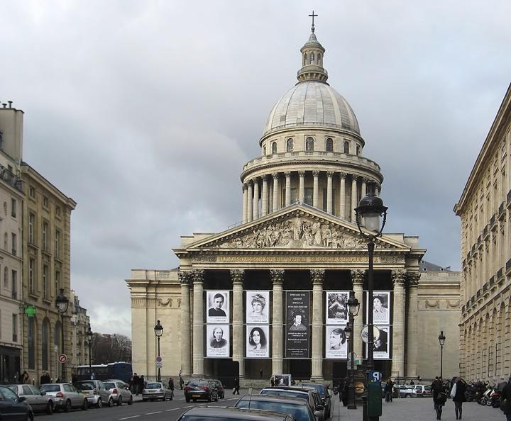 pariste gezilecek yerler - Paris Pantheon