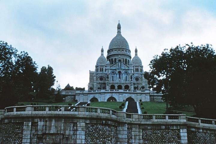pariste gezilecek yerler - Paris Sacre Coeur Kilisesi