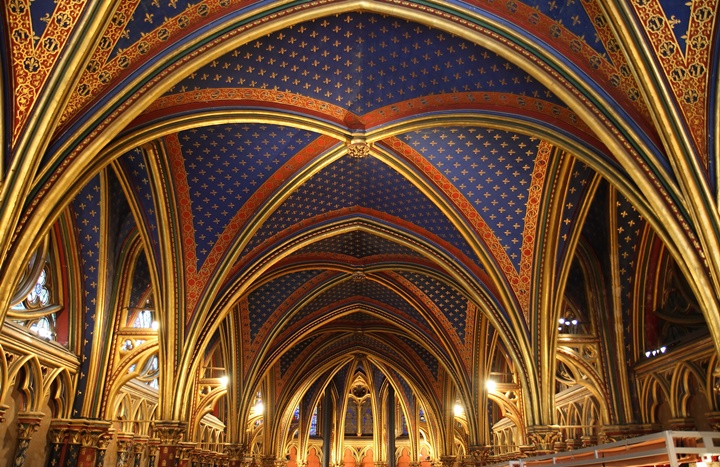 pariste gezilecek yerler - Paris Sainte Chapelle