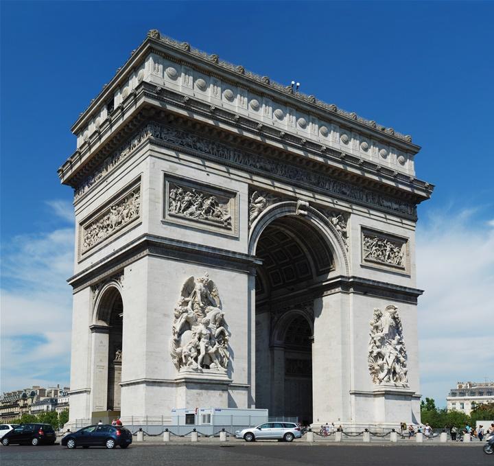 pariste gezilecek yerler - Paris Zafer Takı