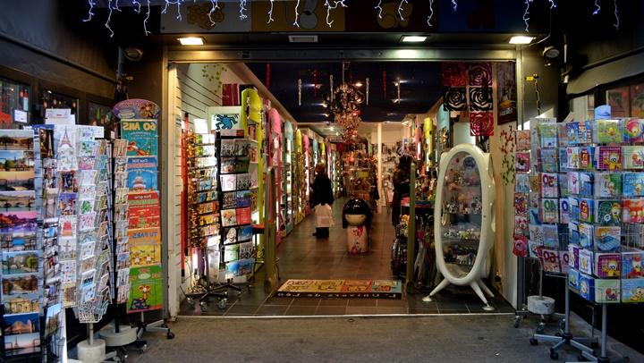 Paris Alışveriş Rehberi - pariste hediyelik dükkanları