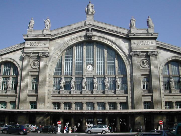Paris Gare Du Nord Tren istasyonu - Paris Tren İstasyonunundan yapılan seferler