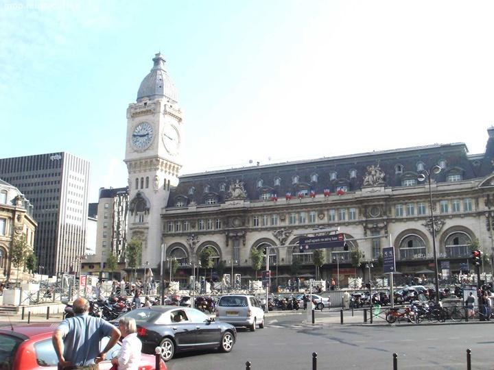 Paris Gare de lyon tren istasyonu - İtalya Paris arası tren seferleri