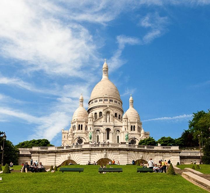 Paris Montmarte Tepesi Hakkında Bilgi -  sacre couer bazilikası
