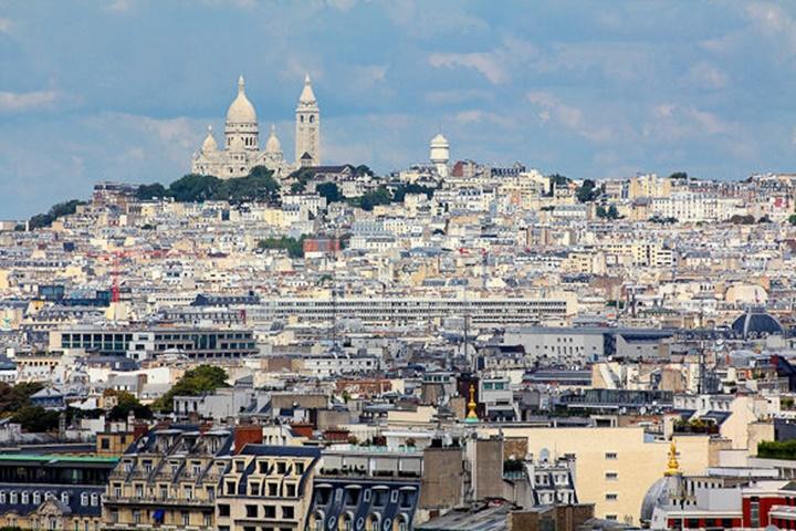 Paris Montmarte Tepesi