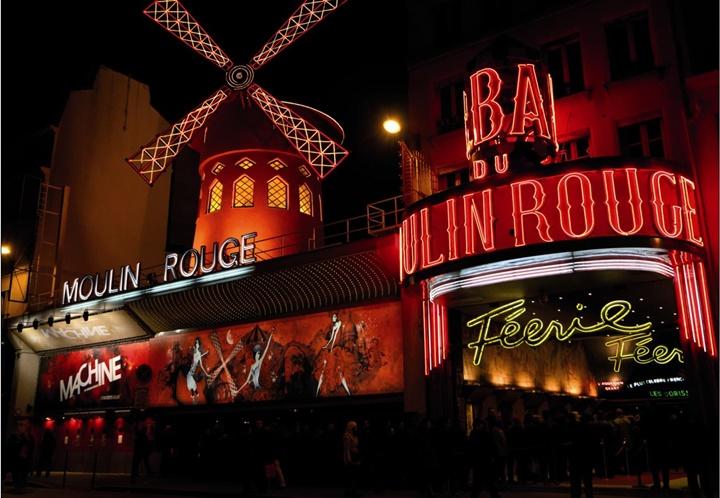Paris Moulin Rouge Kabaresi Nedir