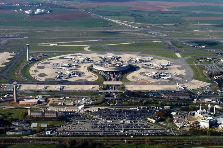 Paris charles de gaulle hava alanı terminal 1
