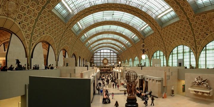 Paris orsay müzesinin içinde sergilenen eserler - Paris orsay müzesinin içi