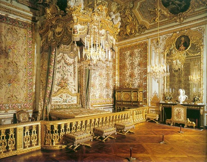 Paris versay sarayının içi