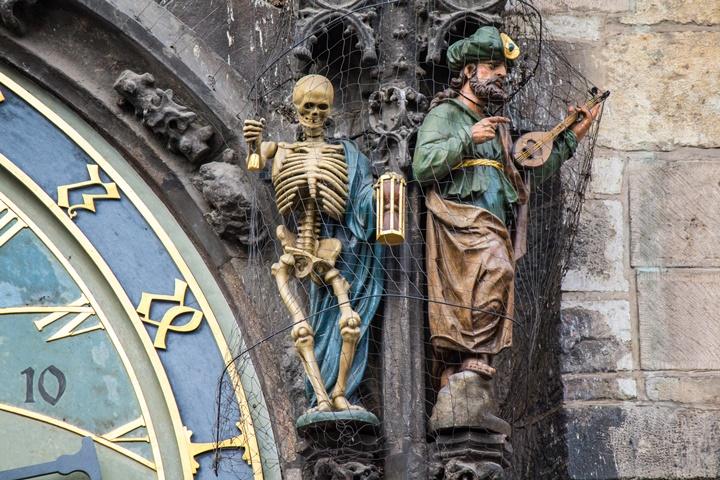 Prag Astronomik saat üzerindeki figürlerin