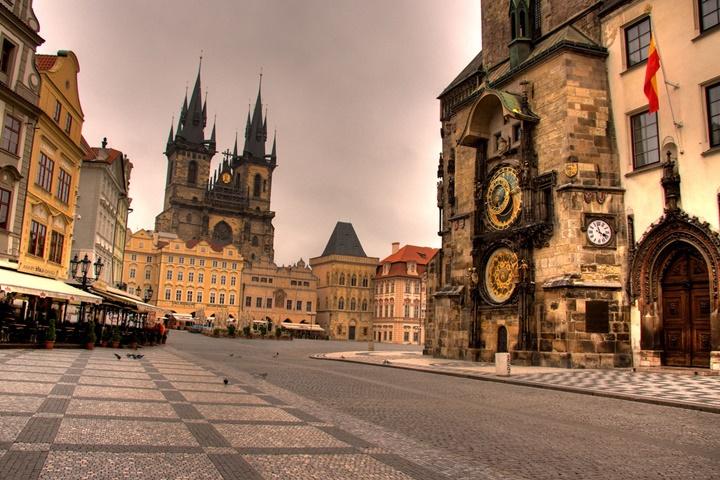 Prag Old Town Meydanı - Prag Eski Şehir Meydanı