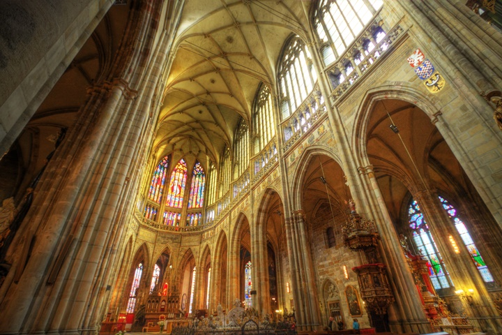 Prag St. Vitus Katedrali