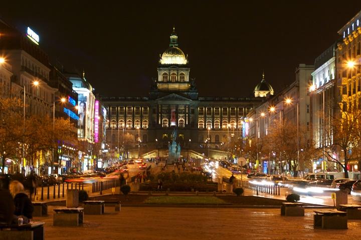 Prag Wenceslas meydanı